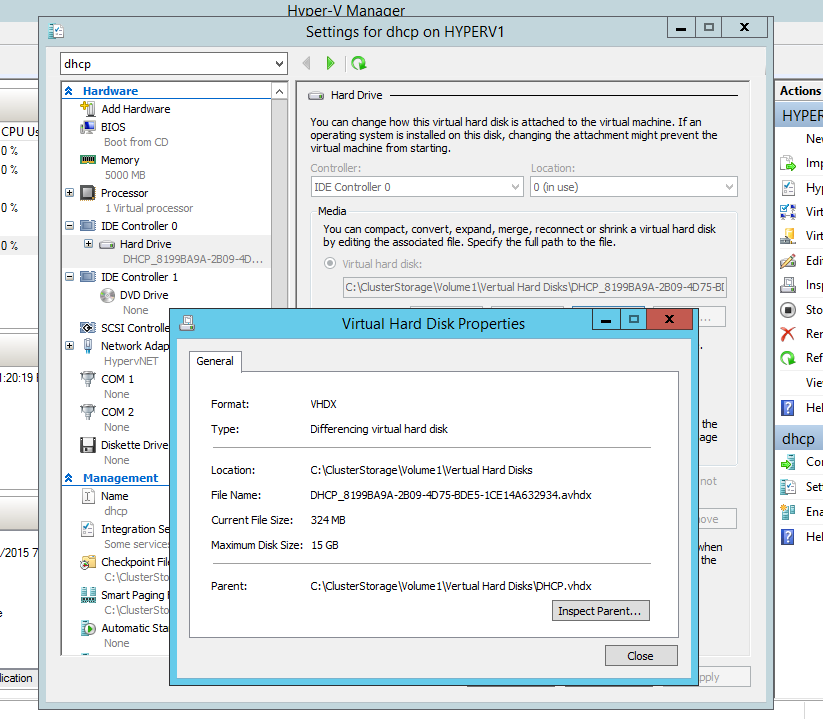 Can't remove Hyper-V Backup Checkpoint/Snapshot from VM - Kapothi